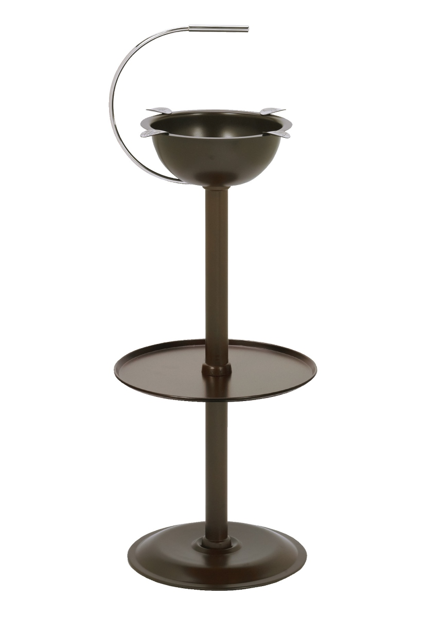 Stinky Floor Stand Cigar Ashtray Brown