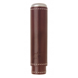 XIKAR Envoy Single Cigar Case - Cognac