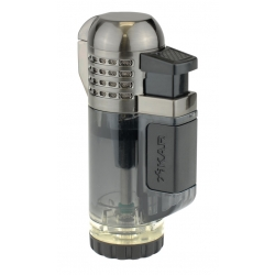 XIKAR Tech Quad Lighter - Black