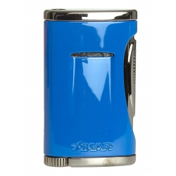 XIKAR Xidris Single Flame Cigar Lighter Blue