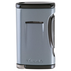 XIKAR Xidris Single Flame Cigar Lighter Gray