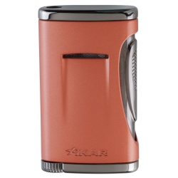 XIKAR Xidris Single Flame Cigar Lighter Orange