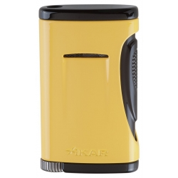 XIKAR Xidris Single Flame Cigar Lighter Yellow