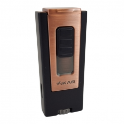 XIKAR Trezo Cigar Lighter - Vintage Bronze with Black