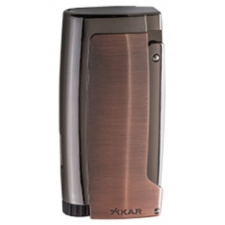 XIKAR Pulsar Cigar Lighter with 7mm Punch - Vintage Bronze