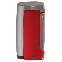 XIKAR Pulsar Cigar Lighter with 7mm Punch - Daytona Red