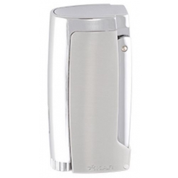 XIKAR Pulsar Cigar Lighter with 7mm Punch - Silver