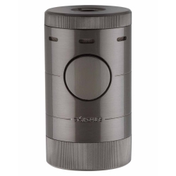 XIKAR Volta Tabletop Cigar Lighter - Gunmetal 569G2