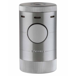 XIKAR Volta Tabletop Cigar Lighter - Silver 569SL