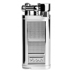 XIKAR Pipeline Lighter - Silver 595CS