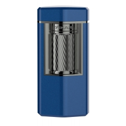 XiKAR Meridian Triple Soft Flame Triple Lighter - Blue