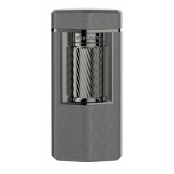 XiKAR Meridian Triple Soft Flame Triple Lighter - Gunmetal