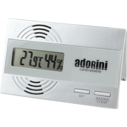 Adorini Slim Digital Hygrometer - CALIBRATABLE
