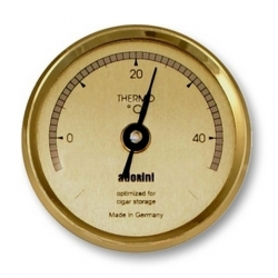 Adorini Large Thermometer - Gold