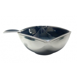Single Cigar Square Stainless Ashtray