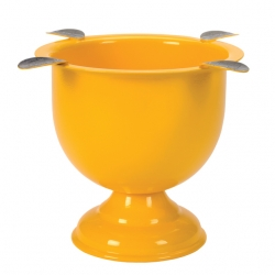 "Stinky 4 Tall ""Yellow"" Cigar Ashtray"