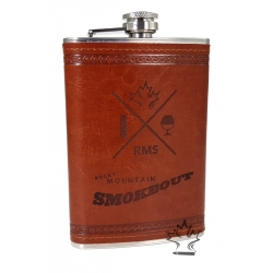 The Brown Leather Flask