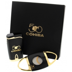 Cohiba 50th Anniversary cutter/lighter set limited edition