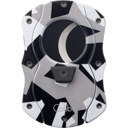 Colibri Cut Cigar Cutter - Grey with Black Blades