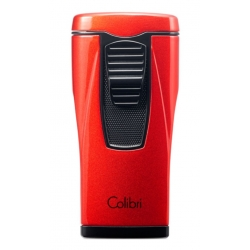 Colibri Monaco Cigar Lighter - Metallic Red