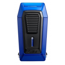 Colibri Quantum Cigar Lighter with V-Cutter -  Blue Black