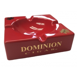 Dominion Cigar Ashtray - Red