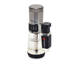 Vertigo Cyclone Cigar Lighter - Clear