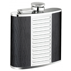 The Black Leather Flask