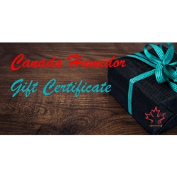 Canada Humidor Gift Certificate