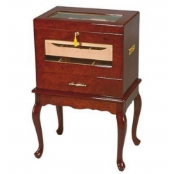 The Geneve 500 Cabinet Cigar Humidor - Imperfect