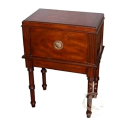 San Marco 300 End Table Cigar Humidor