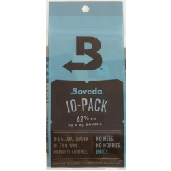 Boveda 62% Humidity Mini-Pack - 10 Packs