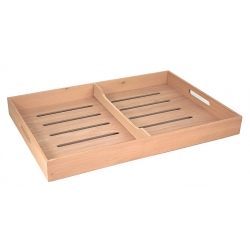 Spanish Cedar Cigar Humidor Tray (Large)