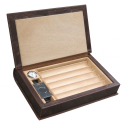 The Novelist 10 Cigar Humidor Prestige Import