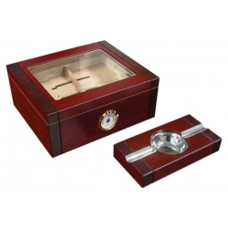 The Sovereign 50 Humidor with Matching Ashtray