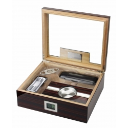 The Kensington 75 Cigar Humidor Gift Set  Prestige Imports