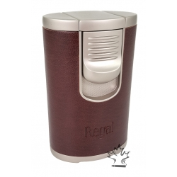 Regal Quad Table Top Lighter - Light Brown