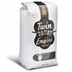Twin Engine Coffee - Cigar Blend #1 - Dark Roast Ground - 400g