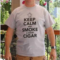 Keep Calm And Smoke A Good Cigar T-Shirt